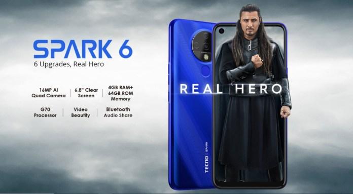 tecno spark 6 specs and price in pakistan