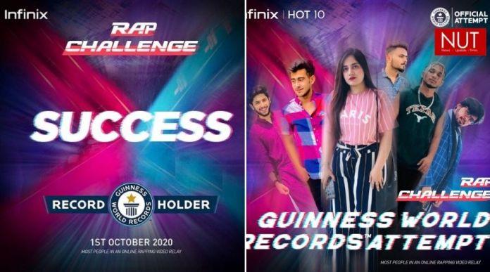 Infinix Rap Video Relay