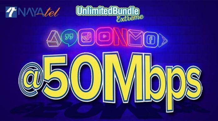 Nayatel Unlimited Bundle Extreme
