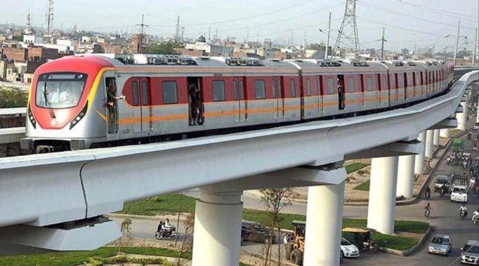 Orange Line Metro Train in Lahore is Now Open
