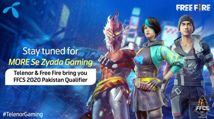 Telenor Pakistan and Garena Free Fire joined forces to experience Gaming Talent in Pakistan