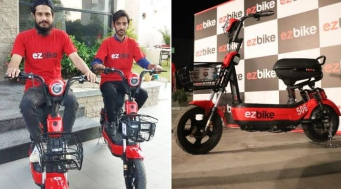 EZBike: Pakistan launches First Electric Bike Sharing Service in Islamabad
