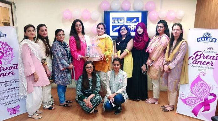 Haleeb Foods and Pink Ribbon collaborates to raise Breast Cancer Awareness