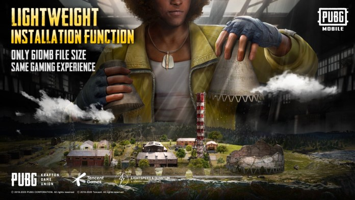 PUBG Mobile Game Size reduced