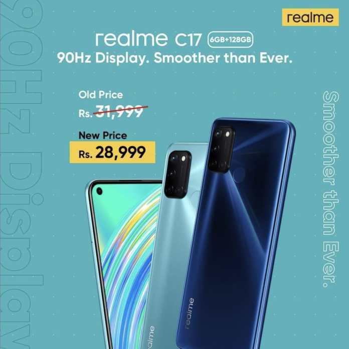realme c17 price in pakistan