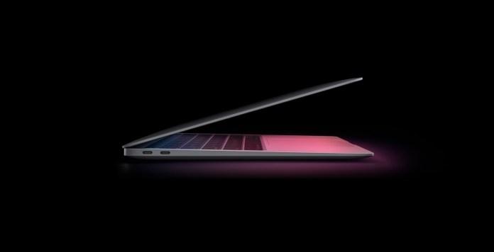 MacBook M1 Side View