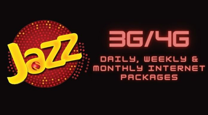 Jazz Internet Packages: Daily, Weekly & Monthly 3G/4G Packages