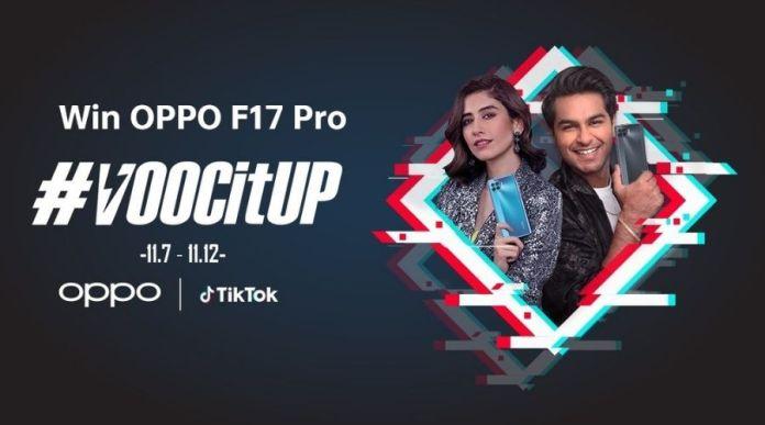 Win OPPO F17 Pro with #VOOCItUp TikTok Challenge