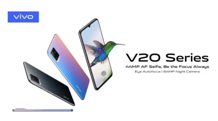 Vivo V20 is now Launched in Pakistan