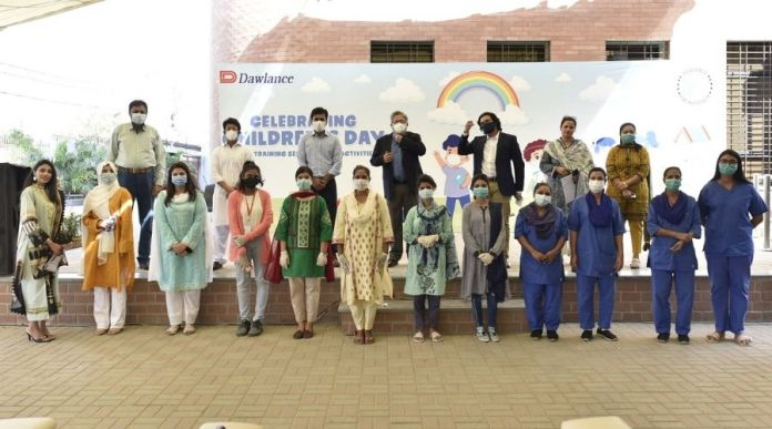 Dawlance Celebrated Universal Children Day at Dar-Ul-Sukun Karachi