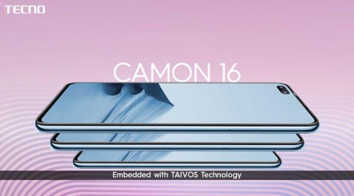 Tecno Camon 16 TAVIOS technology