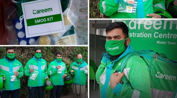 Careem distributes Smog Safety Kits to Captains amidst COVID-19