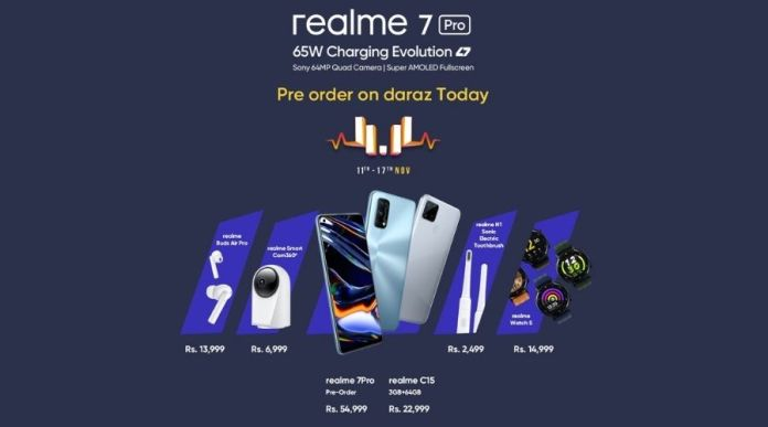 realme Launches 7 Pro and 2 + 4 new products