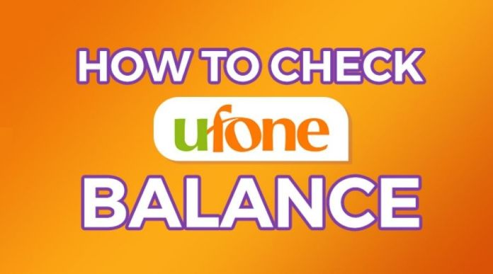 How to Check Ufone remaining Balance