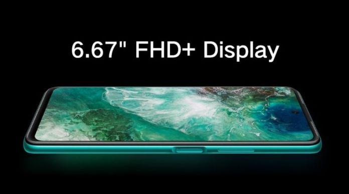 Huawei Y7a FHD Display