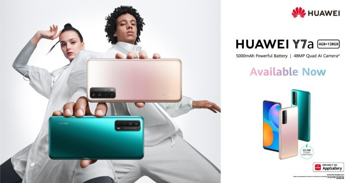 Huawei Y7a Price in Pakistan: Availability, Specs & Features