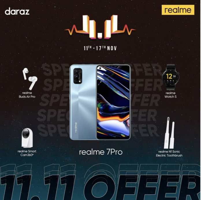 realme 7 pro Daraz 11 11