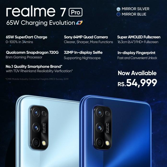 realme 7 pro price in pakistan