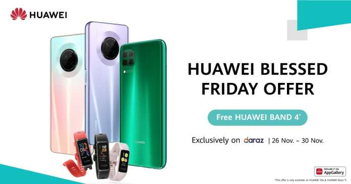 Huawei Brings Blessed Friday Sale Online on Nova 7i & Y9a