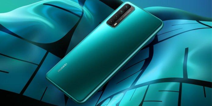 huawei Y7a blue