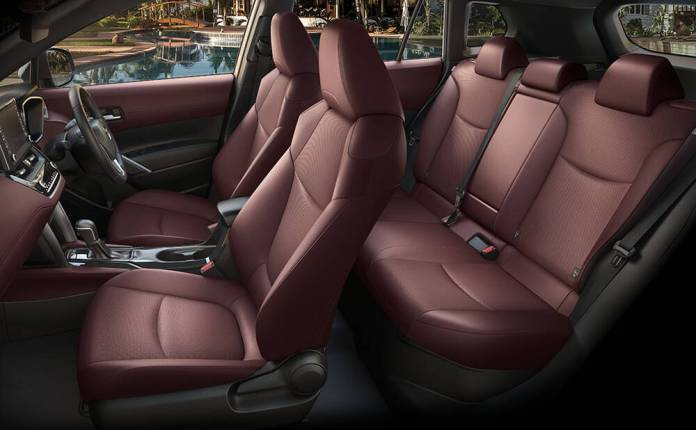 Toyota Corolla Cross Seats