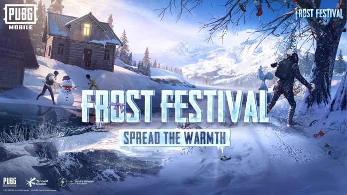 PUBG Mobile Frost Festival, Special Holiday Update Launched