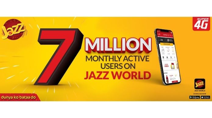 Jazz Becomes Pakistan's Largest Local App with 7M Users