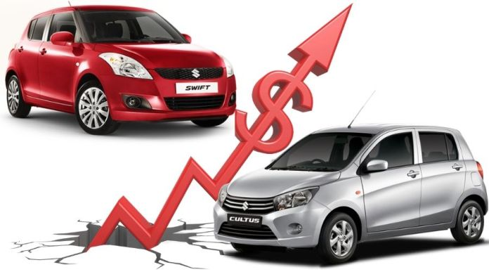 Suzuki Cultus, Swift Price Increased by PMSC Once Again