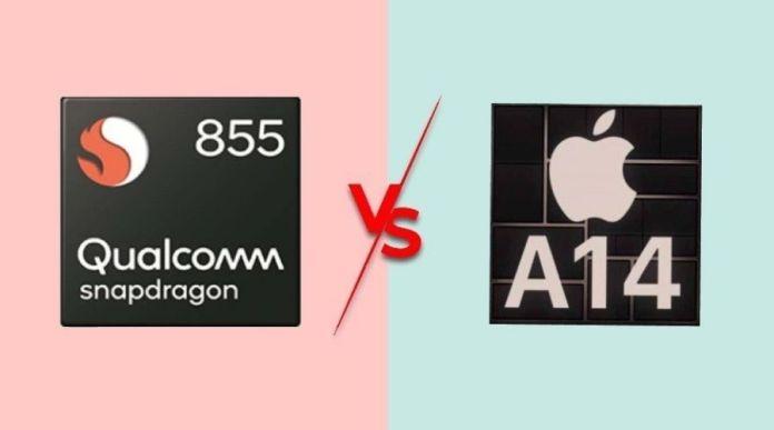 Snapdragon 855 vs A14 Bionic, Head to Head Comparison