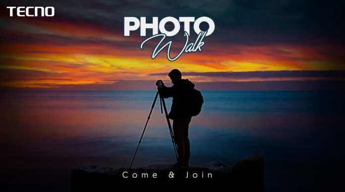 Gear up Lahore for the #TECNOPhotoWalk