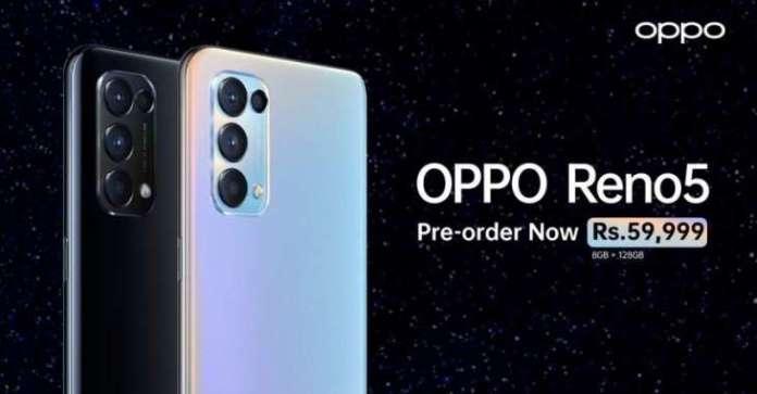 OPPO Launches The Reno5 Featuring Sheheryar Munawar