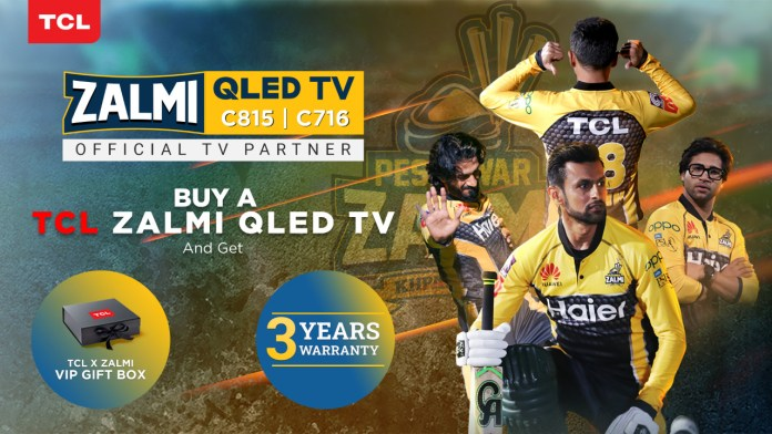 TCL Launches QLED C815 and C716 as 'Zalmi TV' ahead of HBL PSL 6