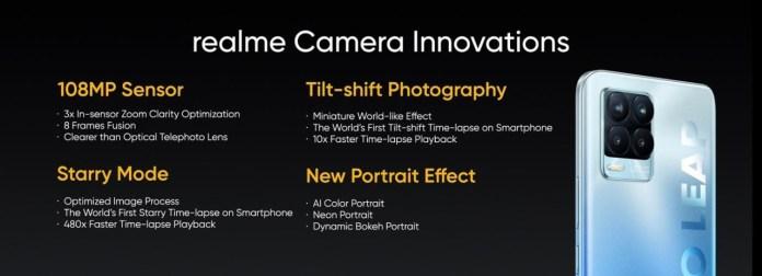 realme 8 camera