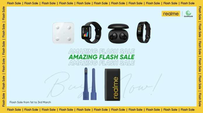 realme flash sale