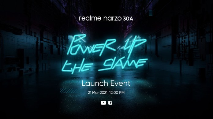 Realme to launch Narzo 30A