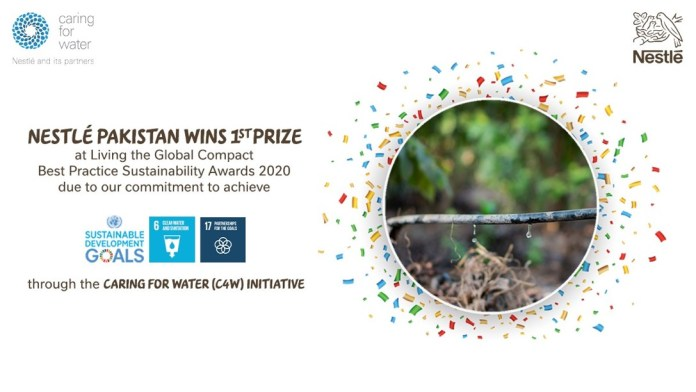 Nestlé Pakistan Caring for Water (C4W) initiative