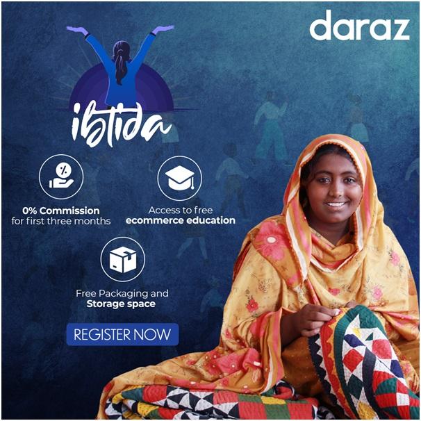 Daraz Ibtida A platform for female entrepreneurs