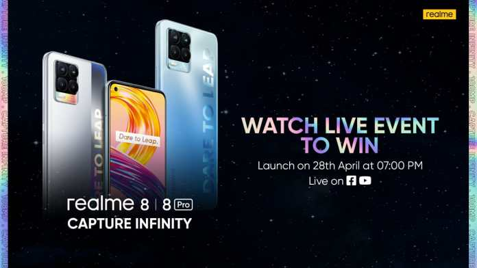 realme 8 Series: Star-studded Launch Awaits with a Spectacular Product Line-up