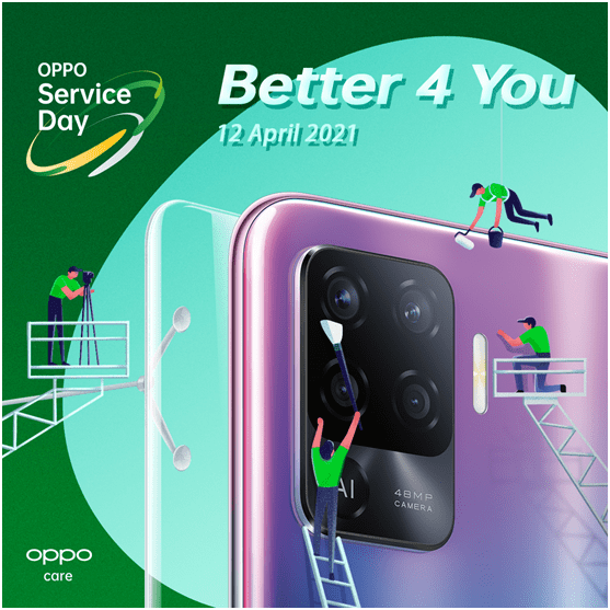 OPPO holds 'Service Day' to provide High Quality Repair Services to the Consumers
