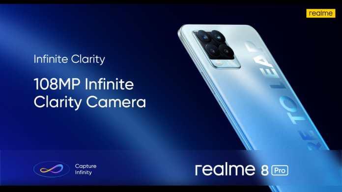realme 8 pro 108 MP camera