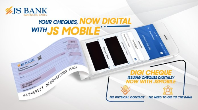 JS Bank Launches Pakistan's First-Ever 'Digital Cheque Service'