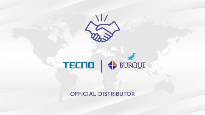 TECNO Pakistan appoints Burque as its Official Distribution Partner
