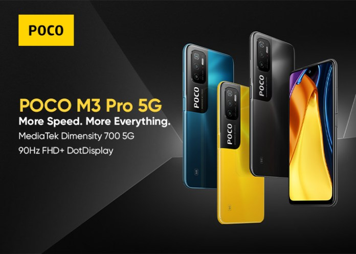 """POCO Launches Powerful M3 Pro 5G with """"More Speed. More Everything"""""""