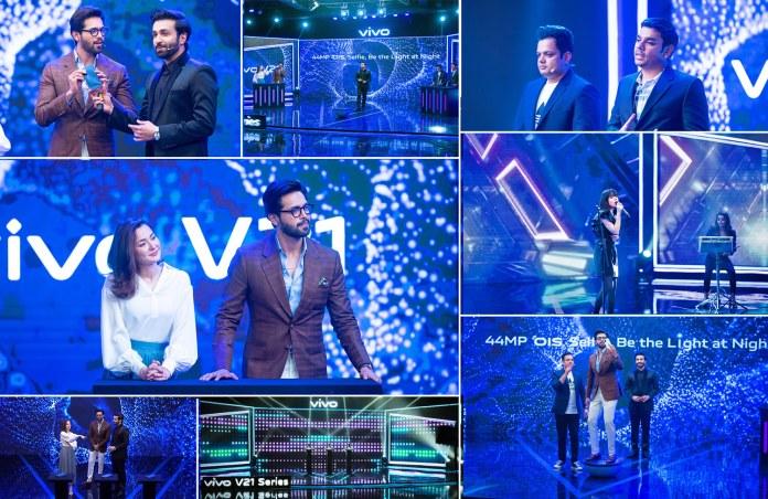 vivo v21 launch event in pakistan