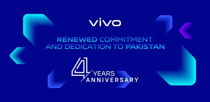 VIVO Marks 4th Anniversary with Renewed Commitment & Dedication to Pakistan