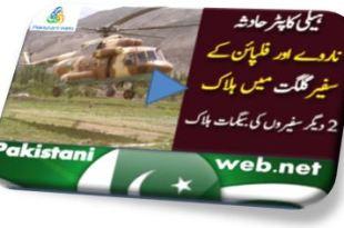 Gilgit helicopter crash