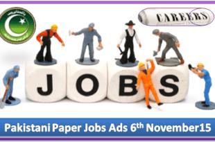 Daily Job Ads 06th November 2015