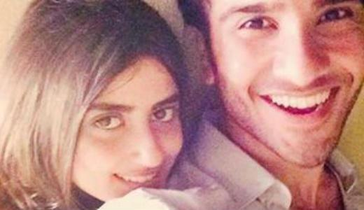 Sajal Ali and VJ Feroze Khan