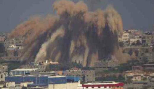Israel-attacks-palestine