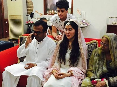 Shaista Lodhi Second Marriage Picture Goes Viral on Social